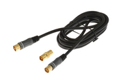 Cable video Hitachi 9,5M/F BK 2M