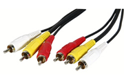 Cable video Temium 3RCA / 3RCA 1,5M