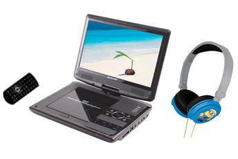 DVD portable BDVDP 1050 NOIR + CASQUE MINIONS Brandt