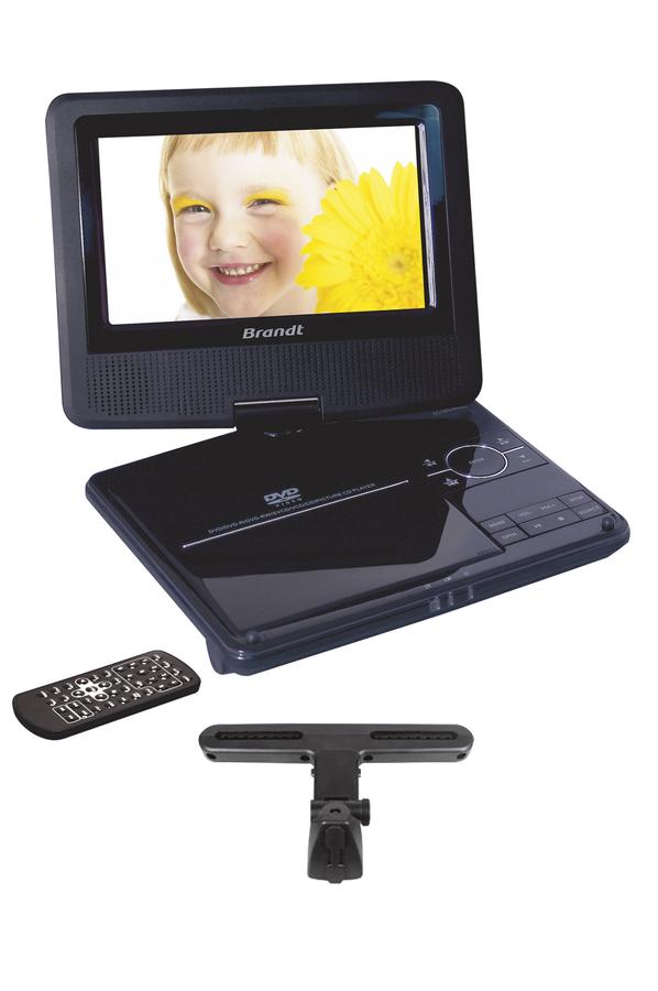 dvd portable brandt bdvdp47 1381431 darty. Black Bedroom Furniture Sets. Home Design Ideas