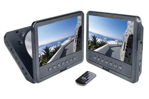 avis clients pour le produit dvd portable brandt pack de 2. Black Bedroom Furniture Sets. Home Design Ideas