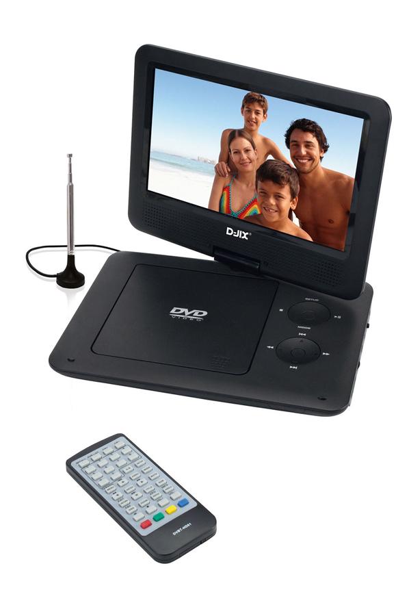 dvd portable d jix pvs 902 95l hd tnt 3709698 darty. Black Bedroom Furniture Sets. Home Design Ideas