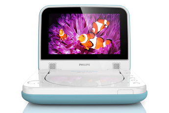 DVD portable PD7006 Bleu Philips