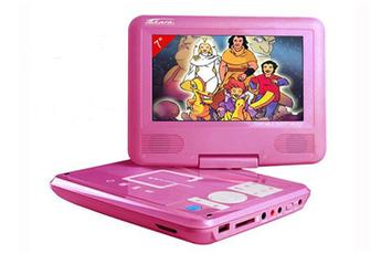Lecteur DVD portable TAKARA VR122 ROSE 7\