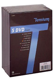 Rangement CD / DVD BOITE DVD Temium