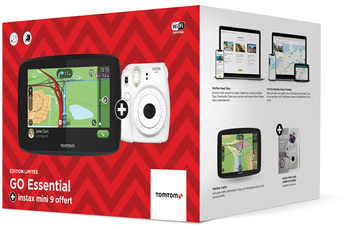 Pack GPS Tomtom GO ESSENTIAL 5 + INSTAX