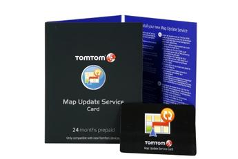 Carte routière pour GPS CARTE MAP UPDATE Tomtom