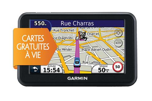 GPS Garmin NUVI 50 LM CARTE à VIE NUVI50LM (8860777)