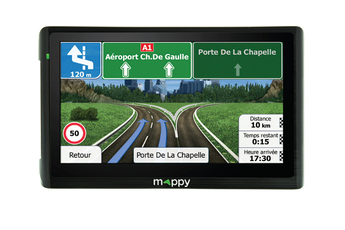 Navigation GPS MAPPY ITI E411 NOIR EUROPE 14 PAYS