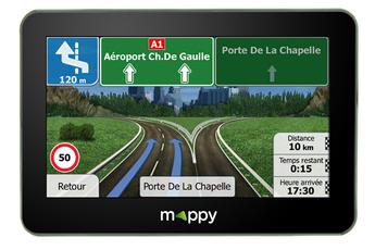 GPS MAXI X685 Mappy.