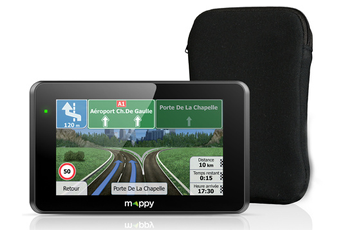 GPS ULTI E528S + HOUSSE Mappy.