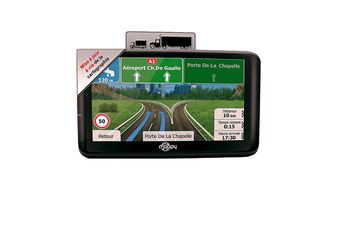 GPS ULTI X555 TRUCK EUROPE Mappy.
