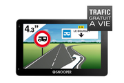 Navigation GPS SNOOPER CC2200 NOIR EUROPE 46 PAYS