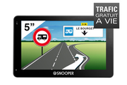 Navigation GPS SNOOPER CC5200 NOIR EUROPE