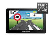 Navigation GPS SNOOPER PL2200 NOIR EUROPE 46 PAYS