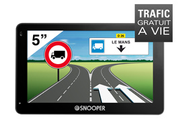 Navigation GPS SNOOPER PL5200 NOIR EUROPE 46 PAYS