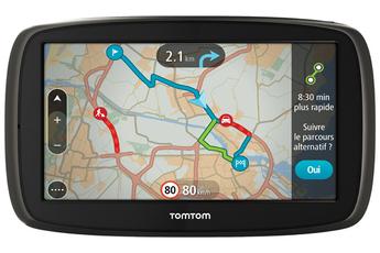 GPS GO 60 EUR45 CARTO+TRAFIC A VIE Tomtom