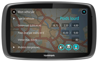 GPS TRUCKER 5000 Tomtom