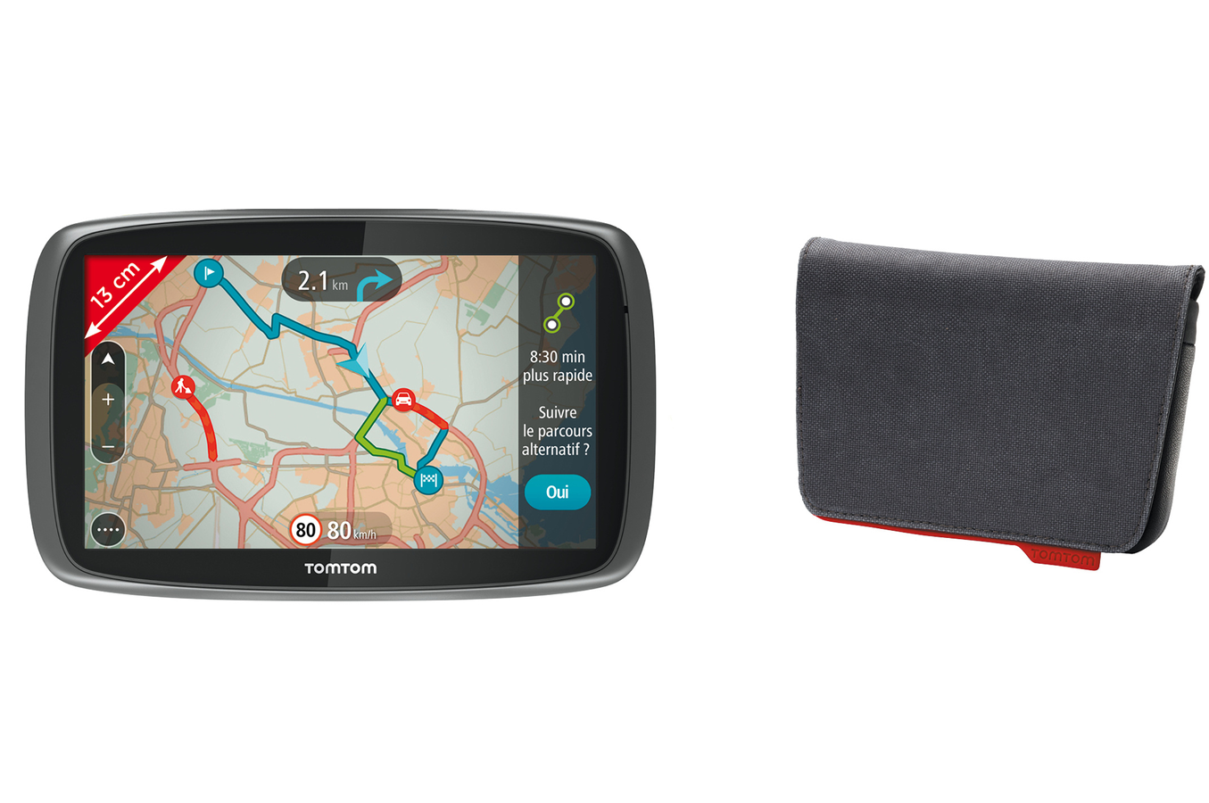 Gps tomtom go 500 eu 23 housse 4050118 darty for Housse tomtom xxl