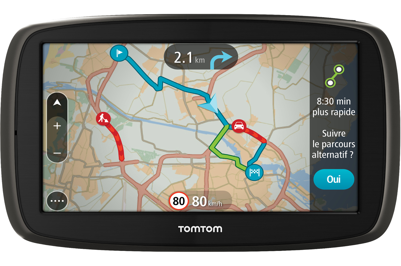 gps tomtom go 61 monde 4178793 darty