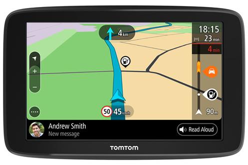 Cartographie Europe 48 Cartographie /à Vie TomTom Start 62 6 Pouces - GPS Auto Scratchcard 1 an de Mise /à Jour Zones de Danger