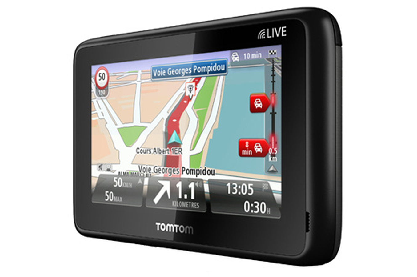 gps tomtom go live 1005 europe golive1005 3347613 darty. Black Bedroom Furniture Sets. Home Design Ideas