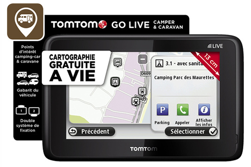 gps tomtom go live camper caravan golivecamper caravan 3602680. Black Bedroom Furniture Sets. Home Design Ideas