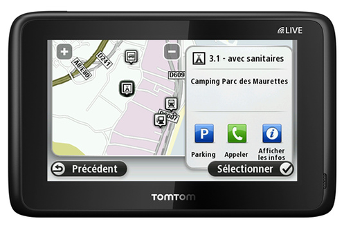 avis clients pour le produit gps tomtom go live camper caravan. Black Bedroom Furniture Sets. Home Design Ideas