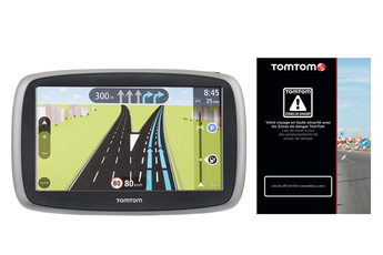 GPS START 50 EU 23 CARTE ZONES DE DANGER Tomtom