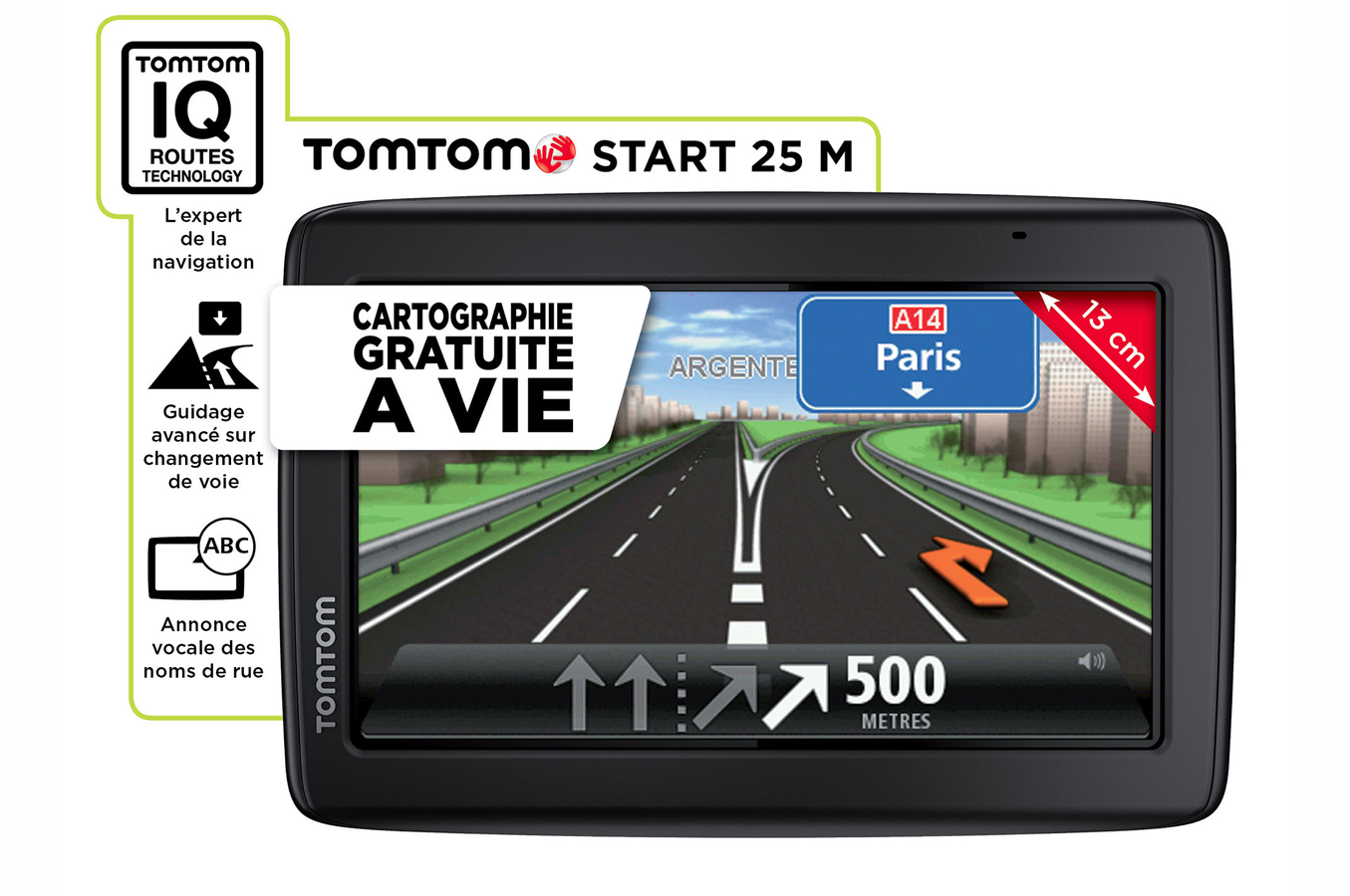 gps tomtom start 25m europe 45 start25m 3722376 darty. Black Bedroom Furniture Sets. Home Design Ideas