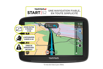 GPS START 52 EU 48 Tomtom