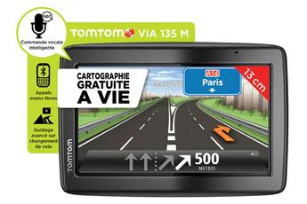 GPS VIA 135 M CARTE à VIE Tomtom