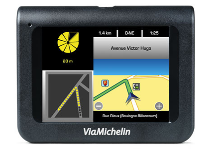 carte europe gps viamichelin