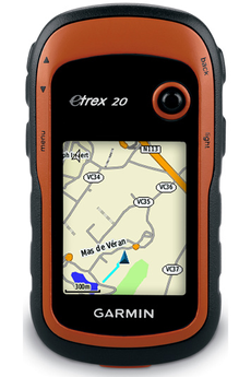 GPS Sport / Randonnée ETREX 20 + TOPO FRANCE LIGHT Garmin