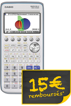 Calculatrice graphique GRAPH90+E Casio