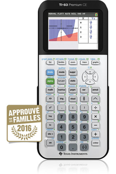 Calculatrice graphique TI 83 PREMIUM CE Texas Instruments
