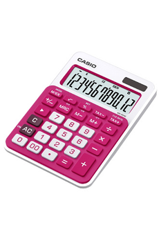 Calculatrice 4 opérations MS 20 NC ROUGE Casio