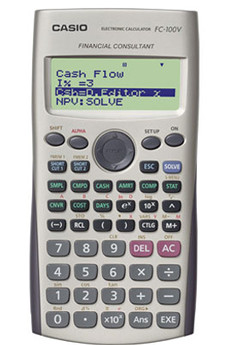 Calculatrice scientifique FC-100V Casio