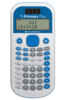 Calculatrice scientifique TI-PRIMAIRE PLUS Texas Instruments