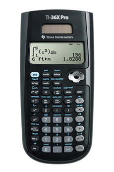 Calculatrice scientifique TI 36 X PRO Texas Instruments