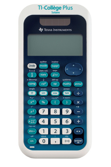 Calculatrice scientifique Ti Collège Plus Solaire HD Texas Instruments