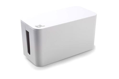 accessoire bureautique bluelounge boite de rangement de c bles blanche 1395459. Black Bedroom Furniture Sets. Home Design Ideas