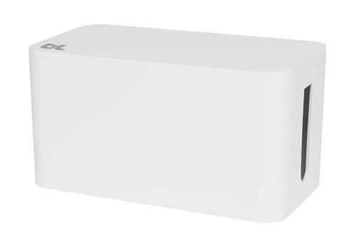 accessoire bureautique bluelounge boite de rangement de c bles blanche 1380710 darty. Black Bedroom Furniture Sets. Home Design Ideas