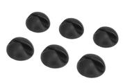 Bluelounge Fixation de câbles CableDrop X6 Noir