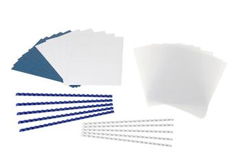 Accessoire bureautique Kit de reliure par anneaux pour 10 dossiers Fellowes