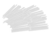 Fellowes Pack de 100 anneaux de reliure en plastique 12 mm