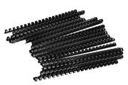 Fellowes Pack de 25 anneaux de reliure plastique 12 mm