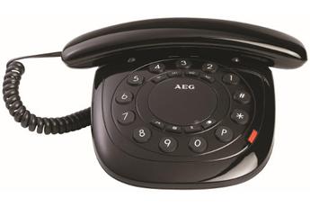 Téléphone filaire STYLE 10 BLACK Aeg
