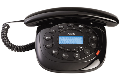 Téléphone filaire STYLE 12 NOIR Aeg