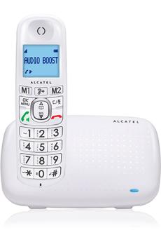 Téléphone filaire XL 385 SOLO BLANC Alcatel